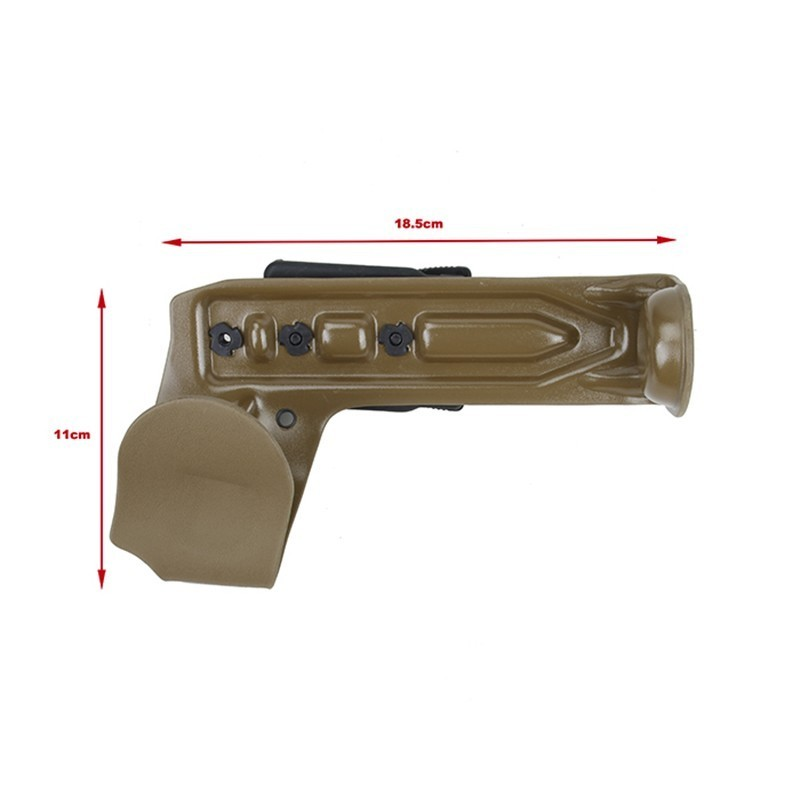 W&T Kydex Lightweight M320 Grenade Launcher Holster for Belt