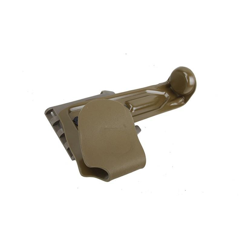 W&T Kydex Lightweight M320 Grenade Launcher Holster with Leg Drop Platform