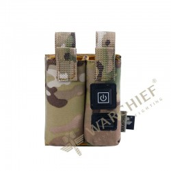 Warchief Double Pistol Mag Heater Pouch