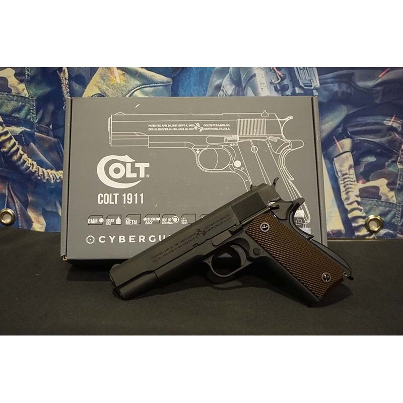 Cybergun AW Custom Colt 1911A1 GBB Pistol