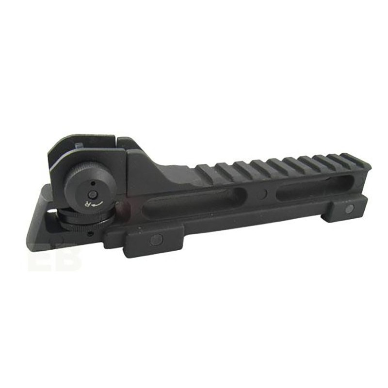 AABB Metal Rail Mount Base with Rear Sight