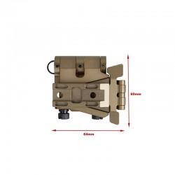 Sotac Flip Mount with Riser System