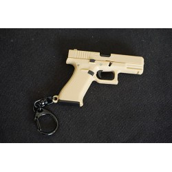 WIJQI 1:6 G-Series 19X Pistol Movable Key Chain