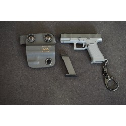 WIJQI 1:6 G-Series 45 Pistol Movable Key Chain with Kydex Holster