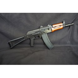 GHK AKS74U Full Metal GBB Rifle with Real Wood Furniture