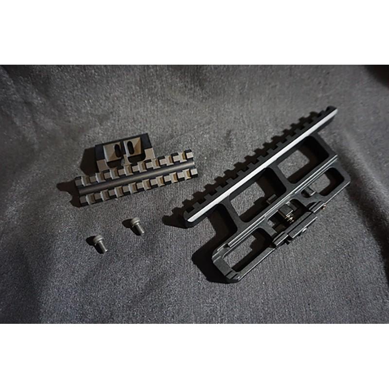 Asura Dynamics Optic Mount Upper Short Rail for AK Rifle