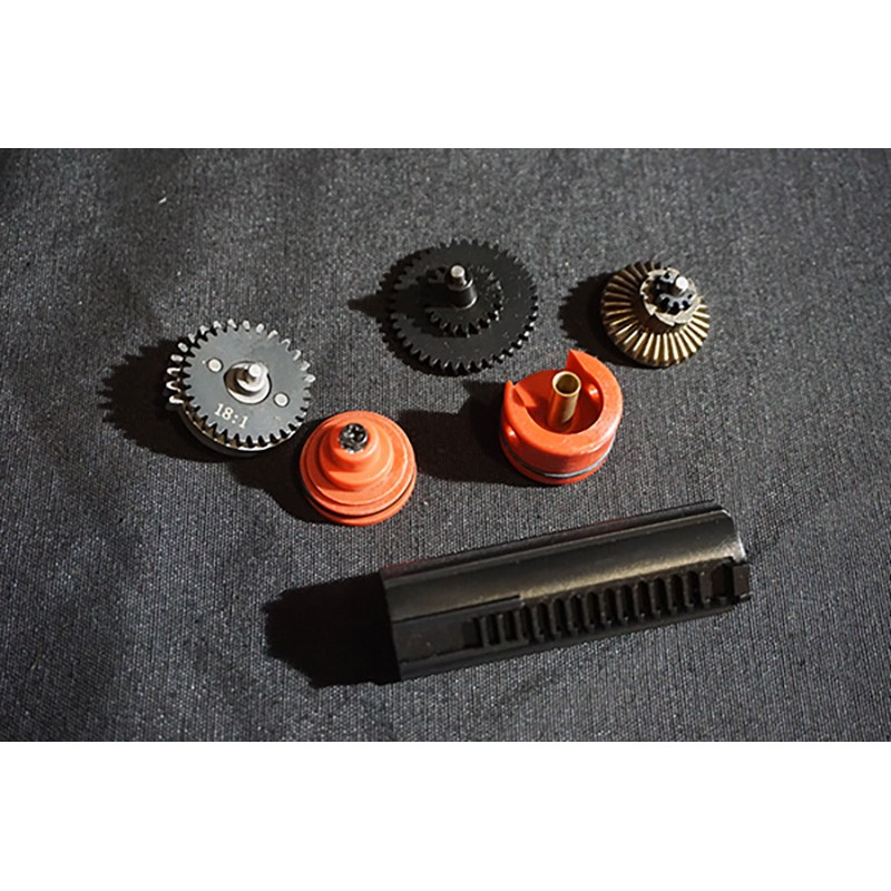 Dytac 18:1 Precision Ver Standard Torque Flat Steel Gear and Tune-Up Set