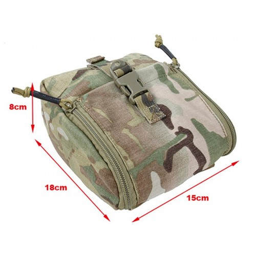TMC CP Style NVG Battery Pouch Color-PenCott GreenZone