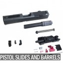 Pistol Slides and Barrels
