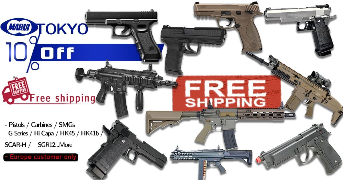 Tokyo Marui Offer - 10% Off + Free Shipping