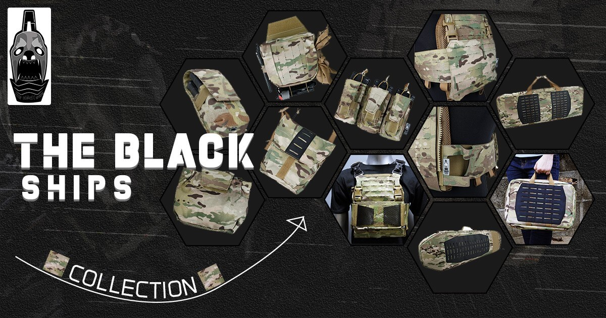 The Black Ships Multicam Collection