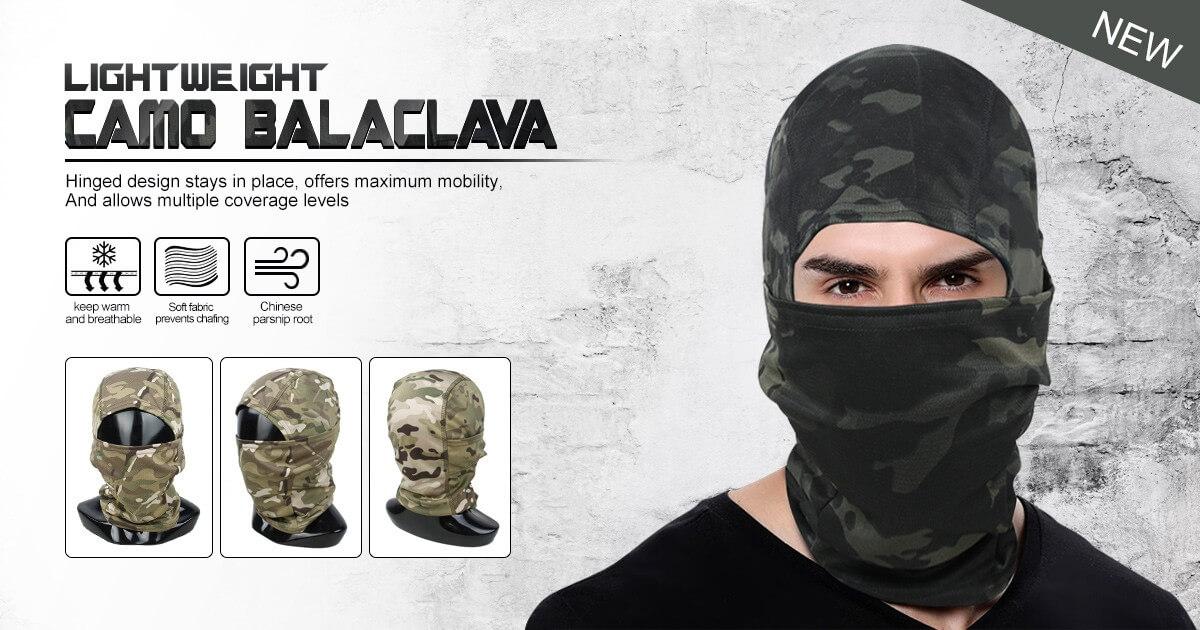 TMC Lightweight Camo Balaclava