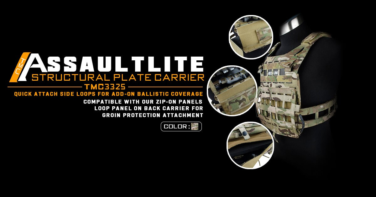 TMC AssaultLite Structural Plate Carrier
